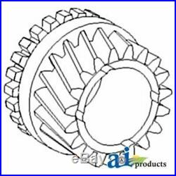 107303A Minneapolis Moline Front Transmission Input Shaft Gear 19 Teeth 25 Splin