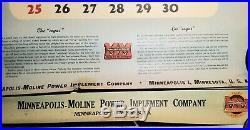 1948 Minneapolis-moline Tractor Advertising Large Wall Calendar F. Molina Campos