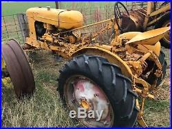 1952 Minneapolis moline bf Avery antique tractor Rare Twin City