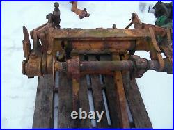 1953 Minneapolis Moline ZB tractor 3 point hitch assembly