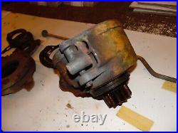 1953 Minneapolis Moline ZB tractor Live power clutch assembly