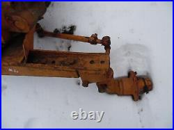 1953 Minneapolis Moline ZB tractor wide front assembly