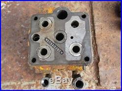 1959 Minneapolis Moline Jet Star gas tractor hydraulic valve block assembly