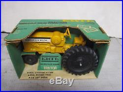 (1966) Minneapolis Moline Model M-602 Toy Tractor Green Box 1/24 Scale, NIB