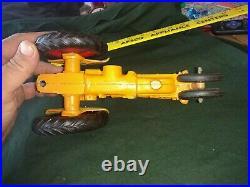 1/16 Slik Minneapolis Moline Tractor toy Orig paint decals&rubber