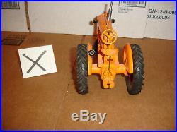 1/16 minneapolis moline ub toy tractor