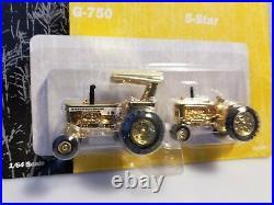 1/64 Ertl Minneaplis Moline GOLD Historical Set, G-750 and 5-Star