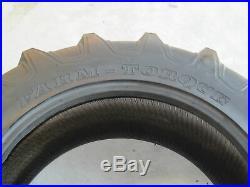 2 13.6x28 Tractor Tires + Innertubes Minneapolis Moline Allis Chalmers 13.6-28
