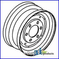 312906071 White Oliver Minneapolis Moline Front Wheel Rim for models 1355, 1365