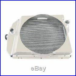 3 Row Alumium Oliver Tractor Radiator For Model1550 1555 1600 1650 1655