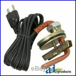 5B675 Universal Heater, Engine Block Frost Plug, 2 1/4 Flat Bar 750 Watt ALL