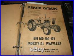 63 Minneapolis Moline Big Mo500 tractor loader