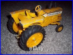 Agco Minneapolis Moline G1000 Farm Toy Vehicle Tractor Custom Parts Used Display