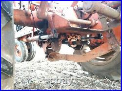Allis Chalmers WD45 with RARE roll over snap coupler plow