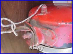 Antique Pr OEM Drum Tractor Headlights Guide c1930 Case Farmall Oliver ++ Rare