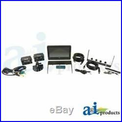 CCT9M2CQ CabCAM Video System, Quad Includes 9 Digital Touch Screen TFT LCD Mon