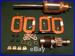 Delco Starter Armature Field Coil Drive kit 6 volt 1107905 Minneapolis Moline