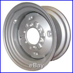FW08166 8 X 16 Front Wheel Rim with6 Bolt Hub fits Ford New Holland