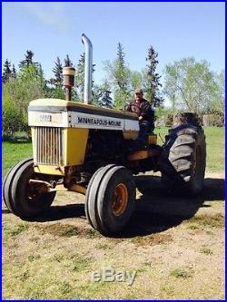 G1000 Minneapolis Moline 1968 Wheatland Diesel Tractor antique G708 G1050