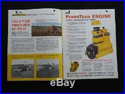 Genuine Minneapolis Moline M670 M 670 Super Tractor Catalog Brochure Nice