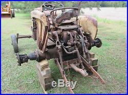 Jet Star 2 tractor 206 engine Minneapolis Moline