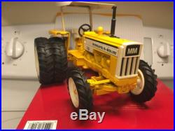 MINNEAPOLIS MOLINE WHITE National FARM TOY Show TRACTOR G-750 TOY 1/16th Scale