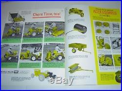 Minneapolis Moline 108 110 112 Garden Tractor Town & Country 1966 Catalog
