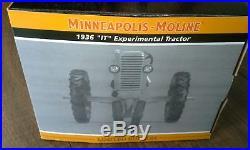 Minneapolis Moline 1936 IT Experimental Tractor SpecCast 1/16 Resin