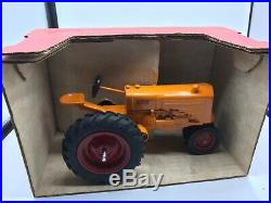 Minneapolis Moline 1/16 Tractor Scale Models Mankato Show 1989 Original Box