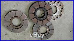Minneapolis Moline Brake Discs GVI G705 G706 G708 tractor pull good shape