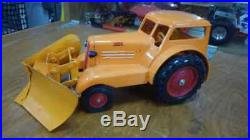 Minneapolis Moline Comfort Tractor with Front Mounted Snow Plow