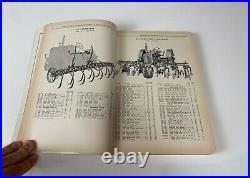 Minneapolis-Moline Farm Tractor Tillage Implements Dealer Parts Catalog 400 page