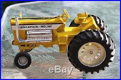 Minneapolis Moline G1000 Pulling Tractor Mighty Minnie Super Puller ERTL 1/16
