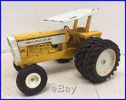 Minneapolis Moline G1355 Tractor with Canopy White Oliver ERTL 1/16 Hard to Find