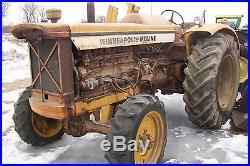 Minneapolis Moline G706 FWA LP Gas Tractor