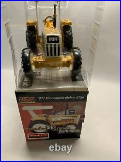 Minneapolis Moline G750 1/16 Diecast Farm Tractor Replica Collectible Firestone