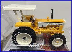 Minneapolis Moline G750 MFWD Tractor Canopy Firestone Limited Ed. NIB ERTL 1/16