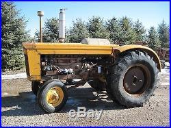 Minneapolis Moline GVI G-VI Wheatland Tractor 1960 propane Very Low Hours