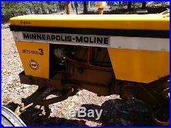 Minneapolis Moline Jet Star 3, Super. Tractor, farm