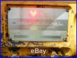 Minneapolis Moline M670 propane/ LP tractor