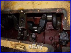 Minneapolis Moline RTU Tractor Engine block and crank