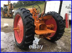 Minneapolis Moline RTU antique tractor rt r new rubber paint