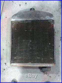 Minneapolis Moline Red Faced Nosed U UTU UTS Radiator Tractor Pull