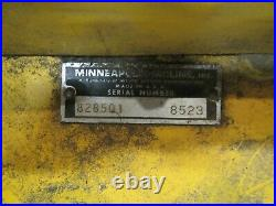 Minneapolis Moline Town & Country 108 112 110 Tractor 828501 42 Mowing Deck