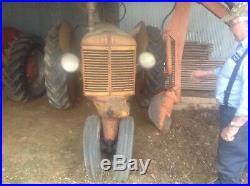 Minneapolis Moline ZAU Tractor