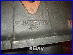 Original Minneapolis Moline Tractor 11B22196 2-Cylinder Engine Block NOS