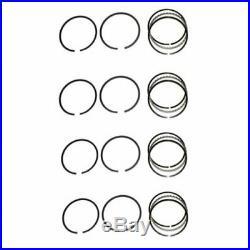 Piston Ring Set Standard 4 Cylinder Minneapolis Moline BG BF Hercules IXB3