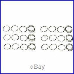 Piston Ring Set Standard 6 Cylinder Minneapolis Moline G1350 G1000 Oliver