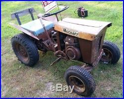 RARE! 1962 Minneapolis Moline Mocraft 100 tractor Antique Classic