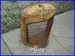 Rare 1939 40's Minneapolis Moline R Tractor Grill Shell & Grill, Hot Rod, Rat Rod